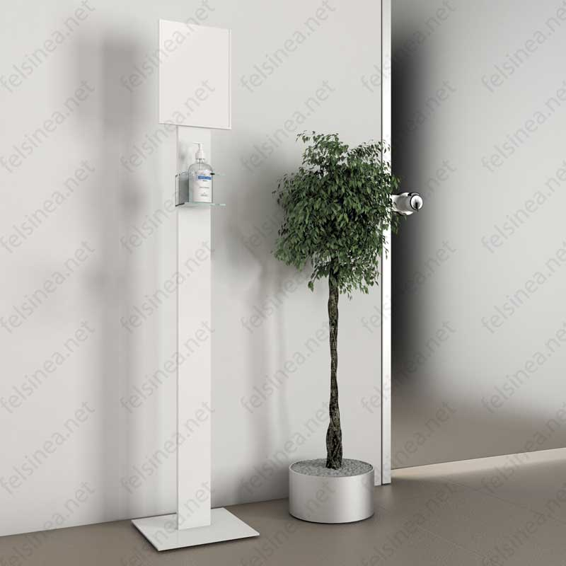 Piantana per dispenser gel igienizzante